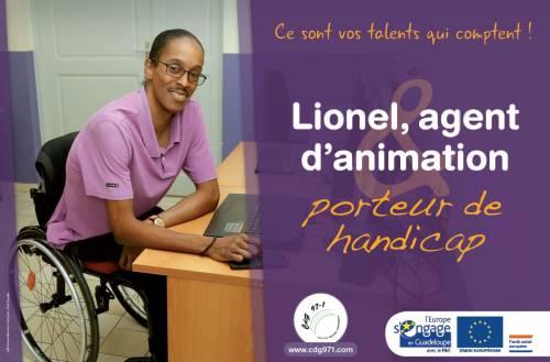 Campagne de communication audiovisuelle sur le handicap